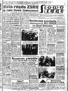 Słowo Ludu : organ Komitetu Wojewódzkiego Polskiej Zjednoczonej Partii Robotniczej, 1963, R.15, nr 100