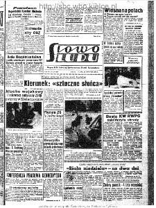 Słowo Ludu : organ Komitetu Wojewódzkiego Polskiej Zjednoczonej Partii Robotniczej, 1963, R.15, nr 116