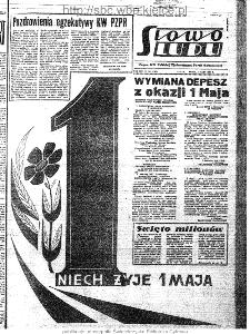 Słowo Ludu : organ Komitetu Wojewódzkiego Polskiej Zjednoczonej Partii Robotniczej, 1963, R.15, nr 121