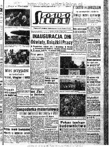 Słowo Ludu : organ Komitetu Wojewódzkiego Polskiej Zjednoczonej Partii Robotniczej, 1963, R.15, nr 123