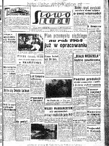 Słowo Ludu : organ Komitetu Wojewódzkiego Polskiej Zjednoczonej Partii Robotniczej, 1963, R.15, nr 135