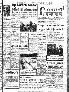 Słowo Ludu : organ Komitetu Wojewódzkiego Polskiej Zjednoczonej Partii Robotniczej, 1963, R.15, nr 136