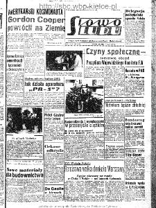 Słowo Ludu : organ Komitetu Wojewódzkiego Polskiej Zjednoczonej Partii Robotniczej, 1963, R.15, nr 137