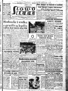 Słowo Ludu : organ Komitetu Wojewódzkiego Polskiej Zjednoczonej Partii Robotniczej, 1963, R.15, nr 144