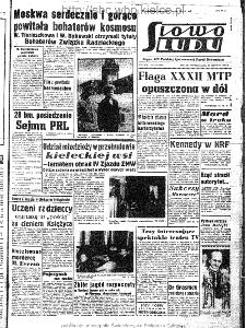 Słowo Ludu : organ Komitetu Wojewódzkiego Polskiej Zjednoczonej Partii Robotniczej, 1963, R.15, nr 175