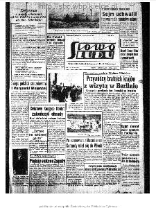 Słowo Ludu : organ Komitetu Wojewódzkiego Polskiej Zjednoczonej Partii Robotniczej, 1963, R.15, nr 182