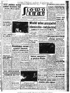 Słowo Ludu : organ Komitetu Wojewódzkiego Polskiej Zjednoczonej Partii Robotniczej, 1963, R.15, nr 184