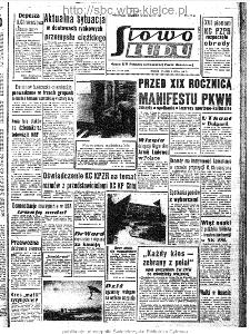 Słowo Ludu : organ Komitetu Wojewódzkiego Polskiej Zjednoczonej Partii Robotniczej, 1963, R.15, nr 186