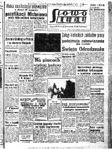 Słowo Ludu : organ Komitetu Wojewódzkiego Polskiej Zjednoczonej Partii Robotniczej, 1963, R.15, nr 196