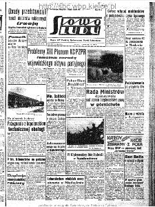 Słowo Ludu : organ Komitetu Wojewódzkiego Polskiej Zjednoczonej Partii Robotniczej, 1963, R.15, nr 199