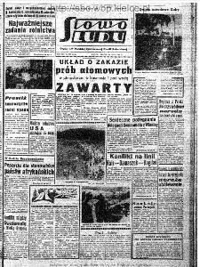 Słowo Ludu : organ Komitetu Wojewódzkiego Polskiej Zjednoczonej Partii Robotniczej, 1963, R.15, nr 207