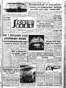 Słowo Ludu : organ Komitetu Wojewódzkiego Polskiej Zjednoczonej Partii Robotniczej, 1963, R.15, nr 210