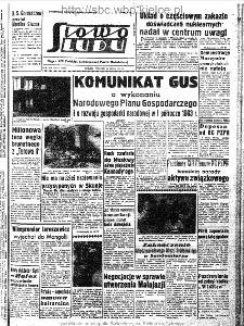 Słowo Ludu : organ Komitetu Wojewódzkiego Polskiej Zjednoczonej Partii Robotniczej, 1963, R.15, nr 211