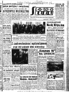 Słowo Ludu : organ Komitetu Wojewódzkiego Polskiej Zjednoczonej Partii Robotniczej, 1963, R.15, nr 219