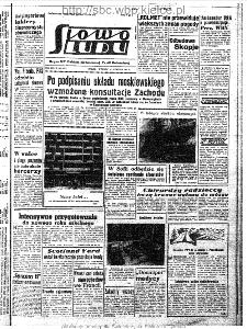 Słowo Ludu : organ Komitetu Wojewódzkiego Polskiej Zjednoczonej Partii Robotniczej, 1963, R.15, nr 225