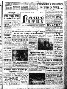Słowo Ludu : organ Komitetu Wojewódzkiego Polskiej Zjednoczonej Partii Robotniczej, 1963, R.15, nr 238