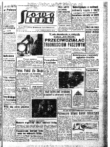 Słowo Ludu : organ Komitetu Wojewódzkiego Polskiej Zjednoczonej Partii Robotniczej, 1963, R.15, nr 239