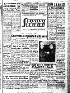 Słowo Ludu : organ Komitetu Wojewódzkiego Polskiej Zjednoczonej Partii Robotniczej, 1963, R.15, nr 252