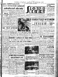 Słowo Ludu : organ Komitetu Wojewódzkiego Polskiej Zjednoczonej Partii Robotniczej, 1963, R.15, nr 259