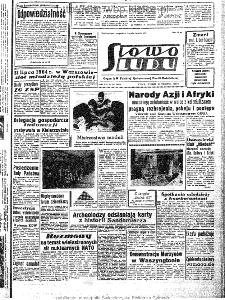 Słowo Ludu : organ Komitetu Wojewódzkiego Polskiej Zjednoczonej Partii Robotniczej, 1963, R.15, nr 267