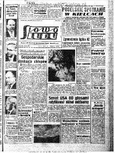 Słowo Ludu : organ Komitetu Wojewódzkiego Polskiej Zjednoczonej Partii Robotniczej, 1963, R.15, nr 268