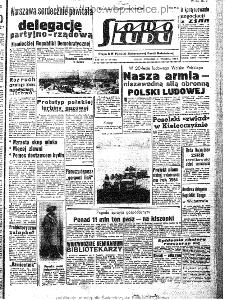 Słowo Ludu : organ Komitetu Wojewódzkiego Polskiej Zjednoczonej Partii Robotniczej, 1963, R.15, nr 269