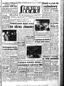 Słowo Ludu : organ Komitetu Wojewódzkiego Polskiej Zjednoczonej Partii Robotniczej, 1963, R.15, nr 277