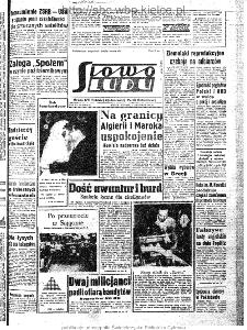 Słowo Ludu : organ Komitetu Wojewódzkiego Polskiej Zjednoczonej Partii Robotniczej, 1963, R.15, nr 309