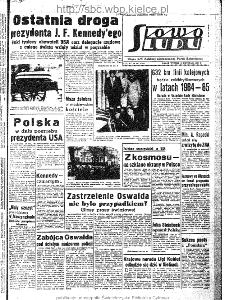 Słowo Ludu : organ Komitetu Wojewódzkiego Polskiej Zjednoczonej Partii Robotniczej, 1963, R.15, nr 330