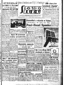 Słowo Ludu : organ Komitetu Wojewódzkiego Polskiej Zjednoczonej Partii Robotniczej, 1963, R.15, nr 345