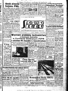 Słowo Ludu : organ Komitetu Wojewódzkiego Polskiej Zjednoczonej Partii Robotniczej, 1963, R.15, nr 353