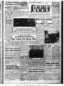 Słowo Ludu : organ Komitetu Wojewódzkiego Polskiej Zjednoczonej Partii Robotniczej, 1964, R.16, nr 51