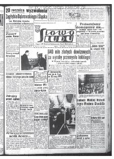 Słowo Ludu : organ Komitetu Wojewódzkiego Polskiej Zjednoczonej Partii Robotniczej, 1965, R.17, nr 28