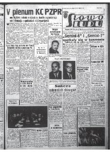 Słowo Ludu : organ Komitetu Wojewódzkiego Polskiej Zjednoczonej Partii Robotniczej, 1965, R.17, nr 350