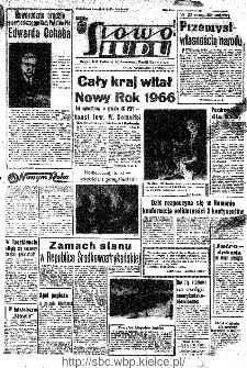 Słowo Ludu : organ Komitetu Wojewódzkiego Polskiej Zjednoczonej Partii Robotniczej, 1966, R.18, nr 3