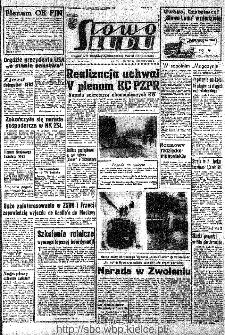 Słowo Ludu : organ Komitetu Wojewódzkiego Polskiej Zjednoczonej Partii Robotniczej, 1966, R.18, nr 14
