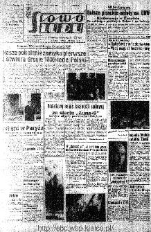 Słowo Ludu : organ Komitetu Wojewódzkiego Polskiej Zjednoczonej Partii Robotniczej, 1966, R.18, nr 39