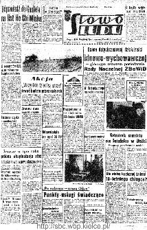 Słowo Ludu : organ Komitetu Wojewódzkiego Polskiej Zjednoczonej Partii Robotniczej, 1966, R.18, nr 47