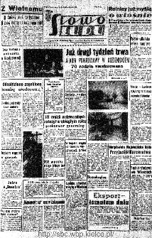 Słowo Ludu : organ Komitetu Wojewódzkiego Polskiej Zjednoczonej Partii Robotniczej, 1966, R.18, nr 48