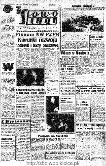 Słowo Ludu : organ Komitetu Wojewódzkiego Polskiej Zjednoczonej Partii Robotniczej, 1966, R.18, nr 54