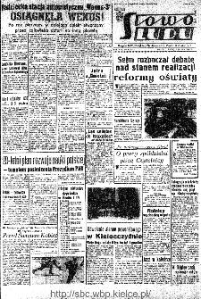 Słowo Ludu : organ Komitetu Wojewódzkiego Polskiej Zjednoczonej Partii Robotniczej, 1966, R.18, nr 61