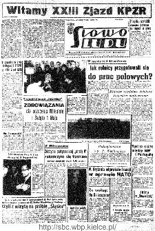 Słowo Ludu : organ Komitetu Wojewódzkiego Polskiej Zjednoczonej Partii Robotniczej, 1966, R.18, nr 88