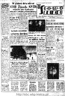 Słowo Ludu : organ Komitetu Wojewódzkiego Polskiej Zjednoczonej Partii Robotniczej, 1966, R.18, nr 93