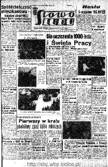 Słowo Ludu : organ Komitetu Wojewódzkiego Polskiej Zjednoczonej Partii Robotniczej, 1966, R.18, nr 109