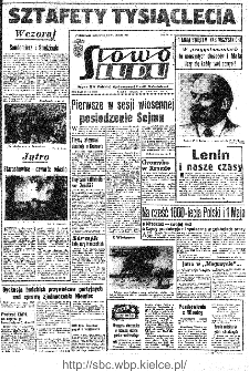 Słowo Ludu : organ Komitetu Wojewódzkiego Polskiej Zjednoczonej Partii Robotniczej, 1966, R.18, nr 112