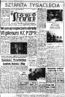 Słowo Ludu : organ Komitetu Wojewódzkiego Polskiej Zjednoczonej Partii Robotniczej, 1966, R.18, nr 116