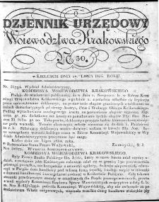 Dziennik Rządowy Województwa Krakowskiego 1834, nr 30