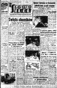 Słowo Ludu : organ Komitetu Wojewódzkiego Polskiej Zjednoczonej Partii Robotniczej, 1966, R.18, nr 157