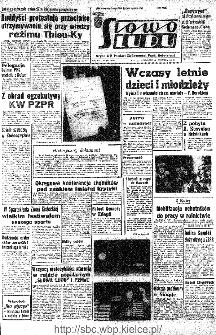 Słowo Ludu : organ Komitetu Wojewódzkiego Polskiej Zjednoczonej Partii Robotniczej, 1966, R.18, nr 167
