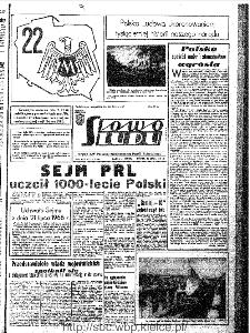 Słowo Ludu : organ Komitetu Wojewódzkiego Polskiej Zjednoczonej Partii Robotniczej, 1966, R.18, nr 203